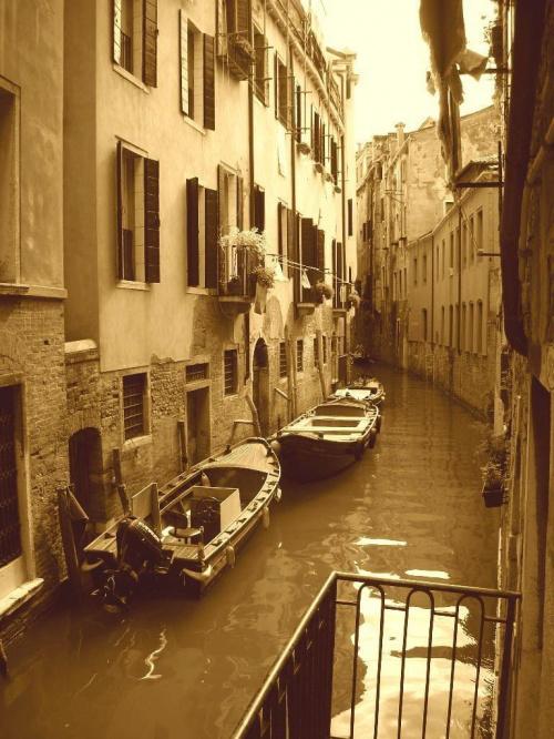 #łódki #wenecja #kanał #włochy