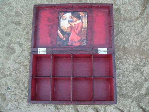 pudełko wiśniowe II
