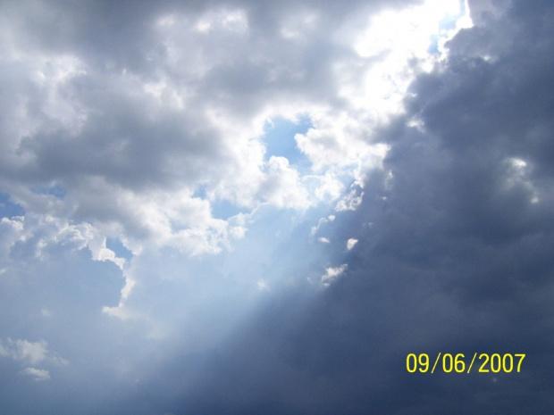 Promienie słońca #ChmuryChmurki