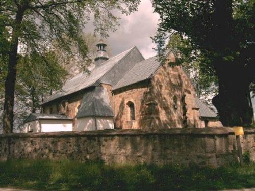 Kościółek w Tarczku #ArchitekturaKościoły