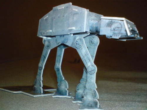 Ogromny AT-AT :) #StarWarsPocketModel