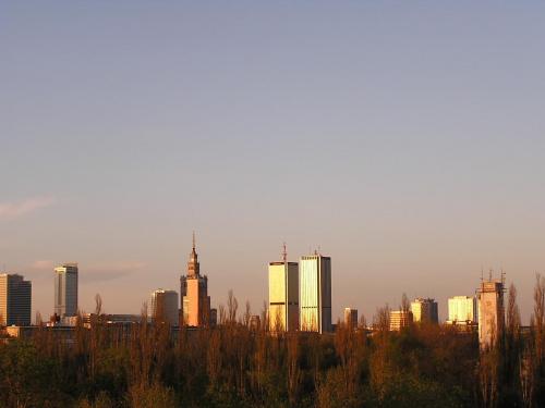 Warsaw Manhattan #Warszawa #PanoramaWarszawy #ZachódSłońca