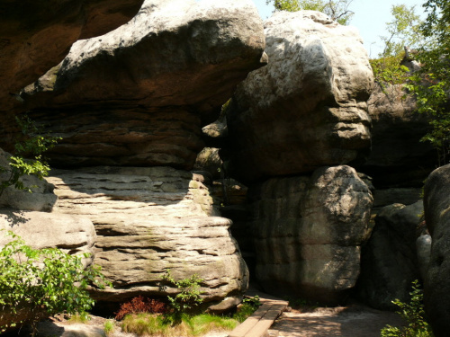 Błędne Skały to unikalny skalny labirynt