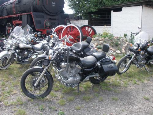 Muzeum Przemysłu i Kolejnictwa, Jaworzyna Śląska, Wystawa Harleyów