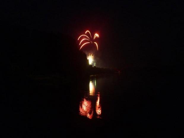#rzeka #wisła #fajerwerki