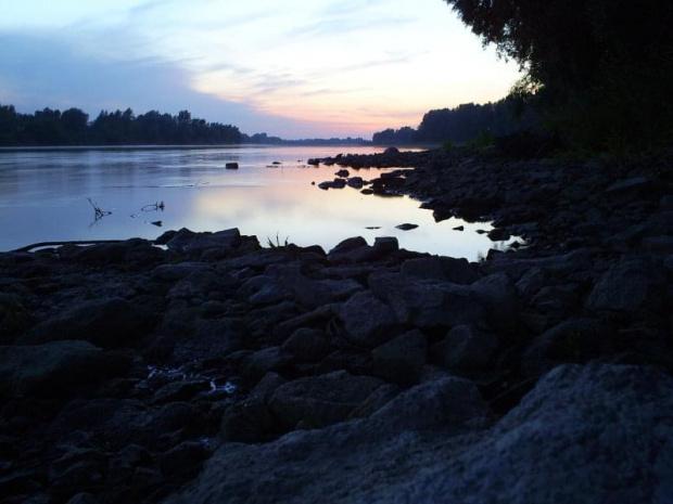 #wisła #rzeka #krajobraz #zachód #słońca