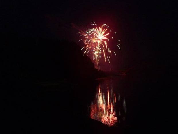 #fajerwerki #wisła #noc