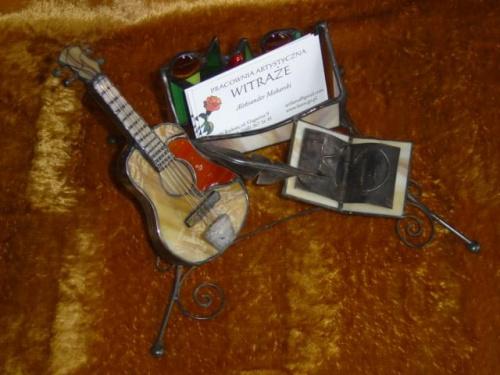 Wizytownik - prezent dla gitarzysty KD