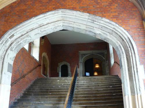 wejscie do pomieszczen Henryka VIII #Hampton #Londyn #Tudor