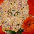 Sałatka z Tortelini wg Babcigramolki .Przepisy na : http://www.kulinaria.foody.pl/ , http://www.kuron.com.pl/ i http://kulinaria.uwrocie.info #sałatki #przekąski #śniadanie #kolacja #jedzenie #kulinaria #gotowanie #PrzepisyKulinarne