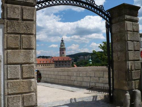 Czeski Krumlow #widok #brama #zabytki