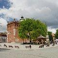 Rynek w Sandomierzu #Sandomierz #Polska #Rynek #kamienice #Ratusz #renesansans #kotwica #studnia