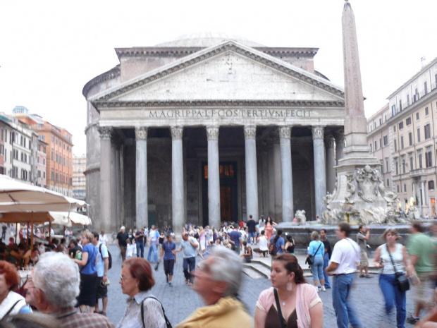 Panteon - świątynia wszystkich bogów #Rzym #Panteon