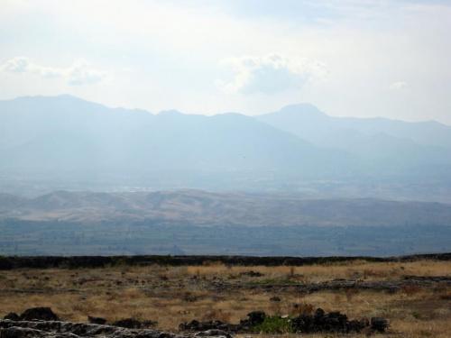 Pamukale, Hierapolis. Widok