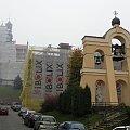 Przemyśl - remont fasady Kościoła Karmelitów i kamienicy Plac Czackiego 2 #Przemyśl #remont #zabytek #elewacja #kościół #kamienica