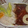Piersi z kurczaka ananasowo-kokosowe.Przepisy na : http://www.kulinaria.foody.pl/ , http://www.kuron.com.pl/ i http://kulinaria.uwrocie.info #kurczak #PiersiZKurczaka #drób #ananas #kokos #gotowanie #jedzenie #kulinaria #PrzepisyKulinarne