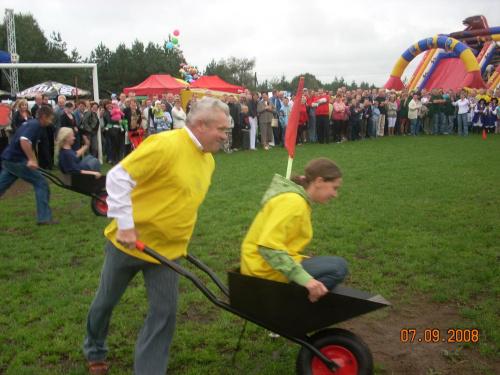 So�tys Kleszczy�ca w konkurencji Bieg farmera