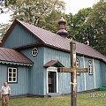 cerkiew w Holi #cerkiew #drewno #Polesie