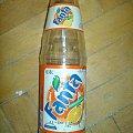 Trochę stara butelka Fanty zdjęcie robione wczoraj 8-) #fanta #butelka