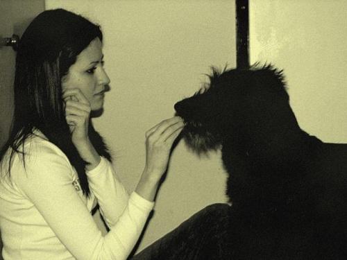 Agata za czasów kiedy to była nieco czarniejsza na włosach :D